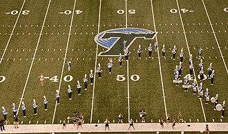 Tulane University Marching Band - The TUMB during a Pregame Show in 2006