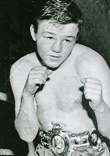 Terry Spinks English boxer