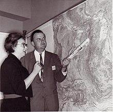 Marie Tharp & Bruce Heezen