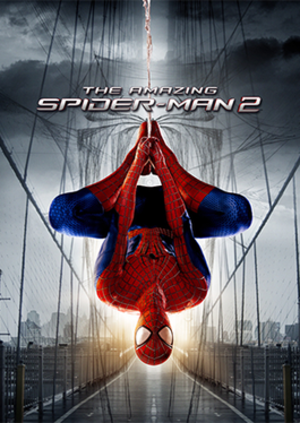 The Amazing Spider-Man 2 (2014 video game) - Cover art