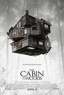 <i>The Cabin in the Woods</i> 2012 film by Drew Goddard
