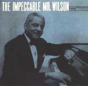 The Impeccable Mr. Wilson - Image: The Impeccable Mr Wilson
