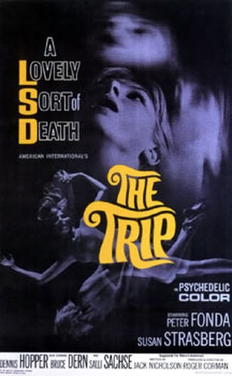 Hippie exploitation films - Promotional poster for the film The Trip