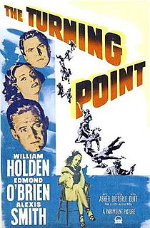 <i>The Turning Point</i> (1952 film) 1952 film by William Dieterle
