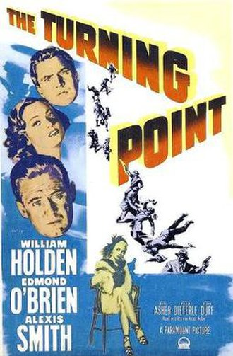 The Turning Point (1952 film) - Theatrical release poster