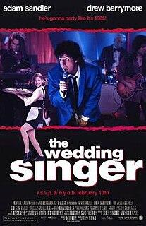 <i>The Wedding Singer</i> 1998 film by Frank Coraci