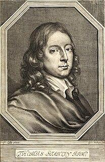 Thomas Stanley (author) English author and translator
