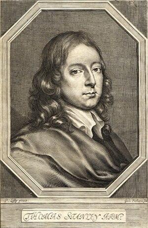 Thomas Stanley (author) - Image: Thomas Stanley 1660
