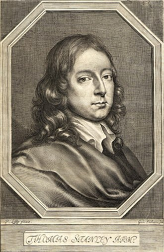 Thomas Stanley (author) - Image: Thomas Stanley 1660
