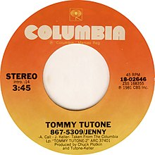 Tommy Tutone - 867-5309 Jenny (single cover).jpg