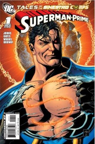 Sinestro Corps War - Image: Tot SC Superman Prime cover