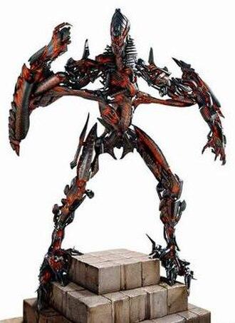 Fallen (Transformers) - The Fallen as he appears in Transformers: Revenge of the Fallen.