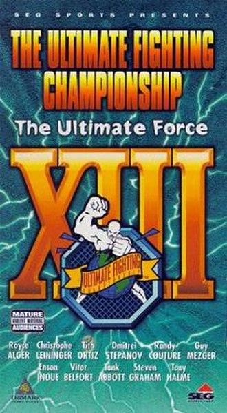 UFC 13 - Image: UFC13