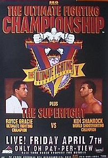 UFC 5 UFC mixed martial arts event in 1995