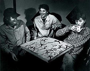 Uncle Tupelo - Uncle Tupelo's original lineup (c. 1991)—Jay Farrar, Jeff Tweedy, and Mike Heidorn
