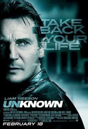 Unknown (2011 film) - US theatrical release poster