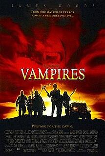 <i>Vampires</i> (1998 film) 1998 American western-horror film directed by John Carpenter