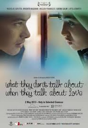 What They Don't Talk About When They Talk About Love - Poster film