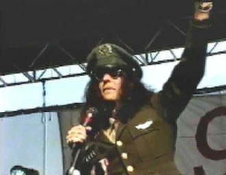 "WNCX - Stern wore a military-style uniform to mock rival WMMS and its philosophy of ""going to war"" with competition"