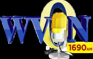 WVON - Image: WVON 1690AM logo
