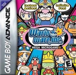 WarioWare, Inc.: Mega Microgames! - Image: Warioware 1box