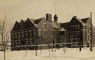 Wausau East High School -  Wausau High School (Pre-1936)