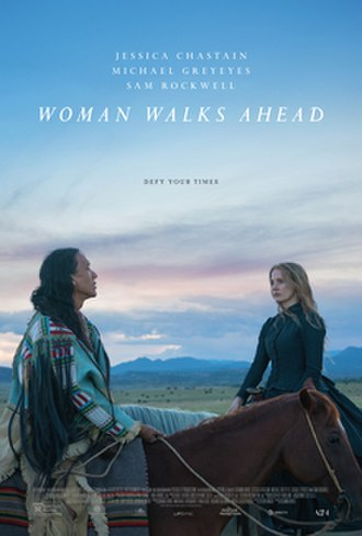 Woman Walks Ahead - Theatrical release poster