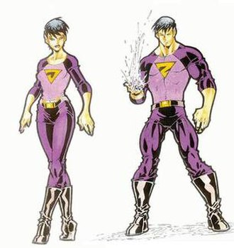 Wonder Twins - The new, revamped Wonder Twins. Art by Todd Nauck.