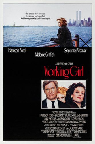 Working Girl - Theatrical release poster