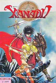 <i>Xanadu</i> (video game) 1985 video game