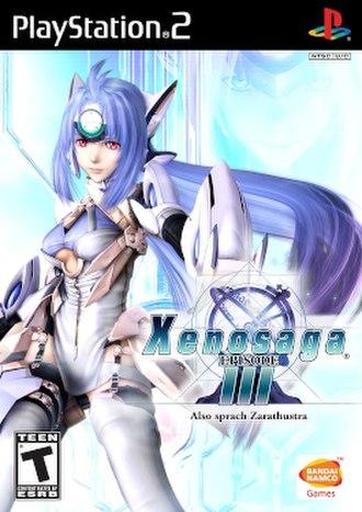 Xenosaga Episode III - Image: Xeno 3boxart