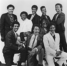 Zapp band with Roger Troutman (front, center)
