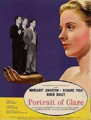 "Portrait of Clare - Image: ""Portrait of Clare"" (1950)"