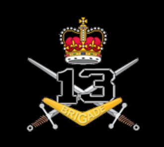 13th Brigade (Australia) - Image: 13th Brigade Australia logo