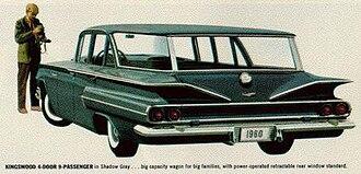 Chevrolet Kingswood - 1960 Chevrolet Kingswood (rear)