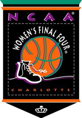 1996 NCAA Division I Women's Basketball Tournament - Image: 1996Womens Final Four Logo