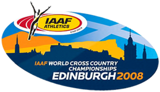 2008 IAAF World Cross Country Championships - Image: 2008 IAAF World Cross Country Championships Logo