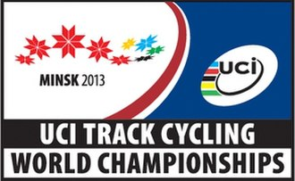 2013 UCI Track Cycling World Championships - Image: 2013 UCI Track Cycling World Championships logo