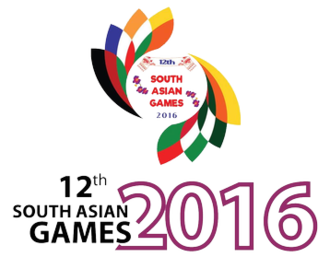 2016 South Asian Games - Image: 2016 South Asian Games Logo