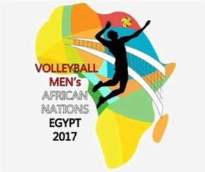 2017 Men's African Volleyball Championship - Image: 2017 Men's African Volleyball Championship logo