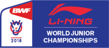 2018 BWF World Junior Championships Logo.png