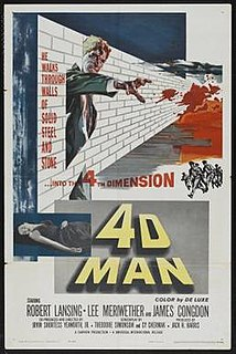 <i>4D Man</i> 1959 film