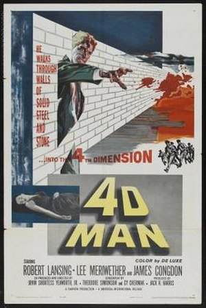 4D Man - Theatrical release poster