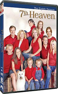 <i>7th Heaven</i> (season 8) season of television series