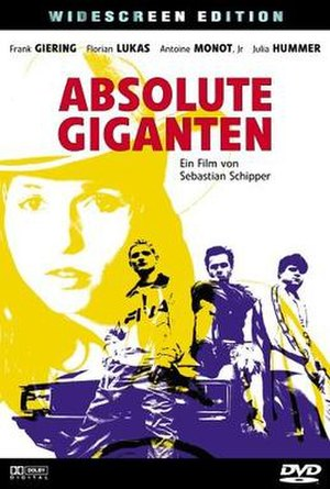 Absolute Giganten - DVD cover