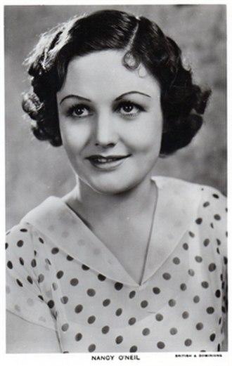 Nancy O'Neil - Picturegoer postcard