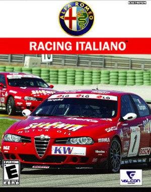 Alfa Romeo Racing Italiano - PlayStation 2 cover art for Alfa Romeo Racing Italiano (North American version)