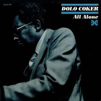 All Alone (Dolo Coker album) - Image: All Alone (Dolo Coker album)