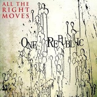 All the Right Moves (OneRepublic song) - Image: All the right moves single cover