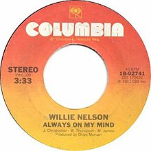 Always on My Mind by Willie Nelson US vinyl.jpg
